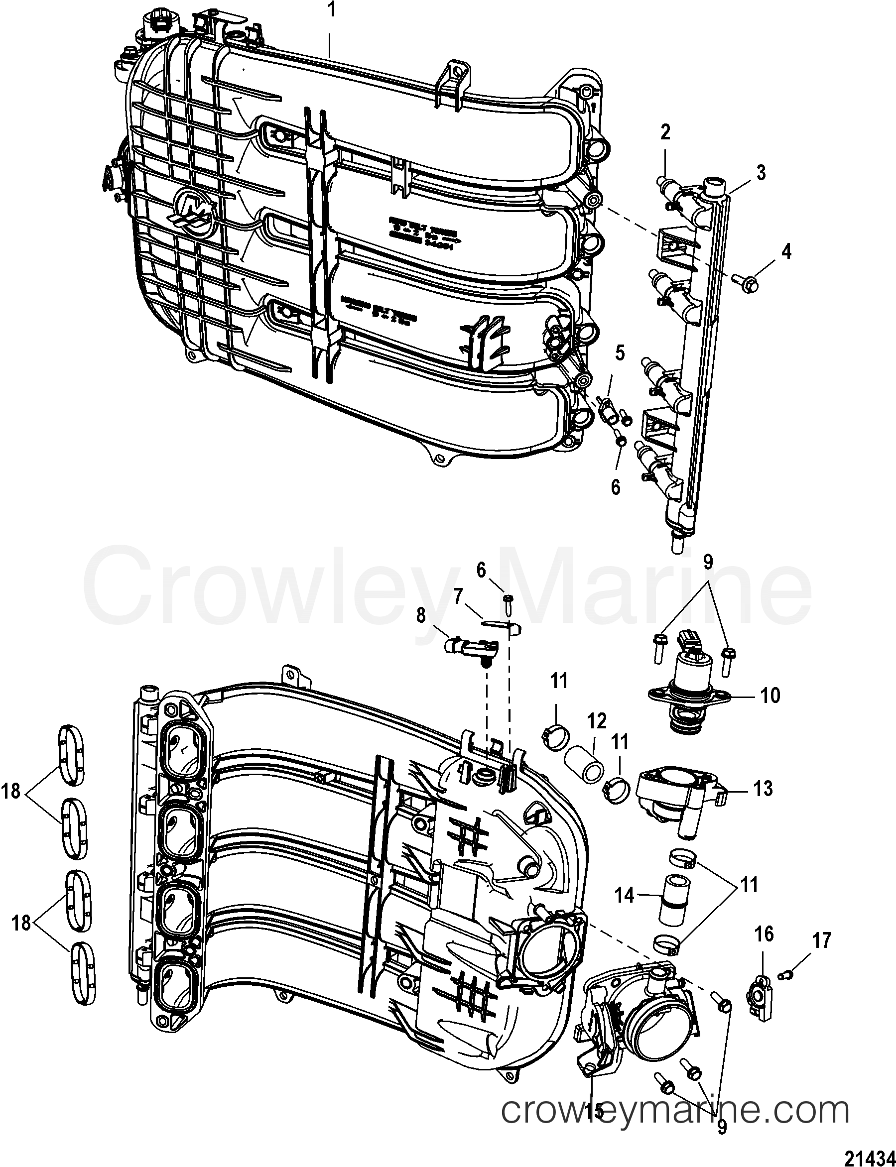 Intergrated Air Fuel Module Components