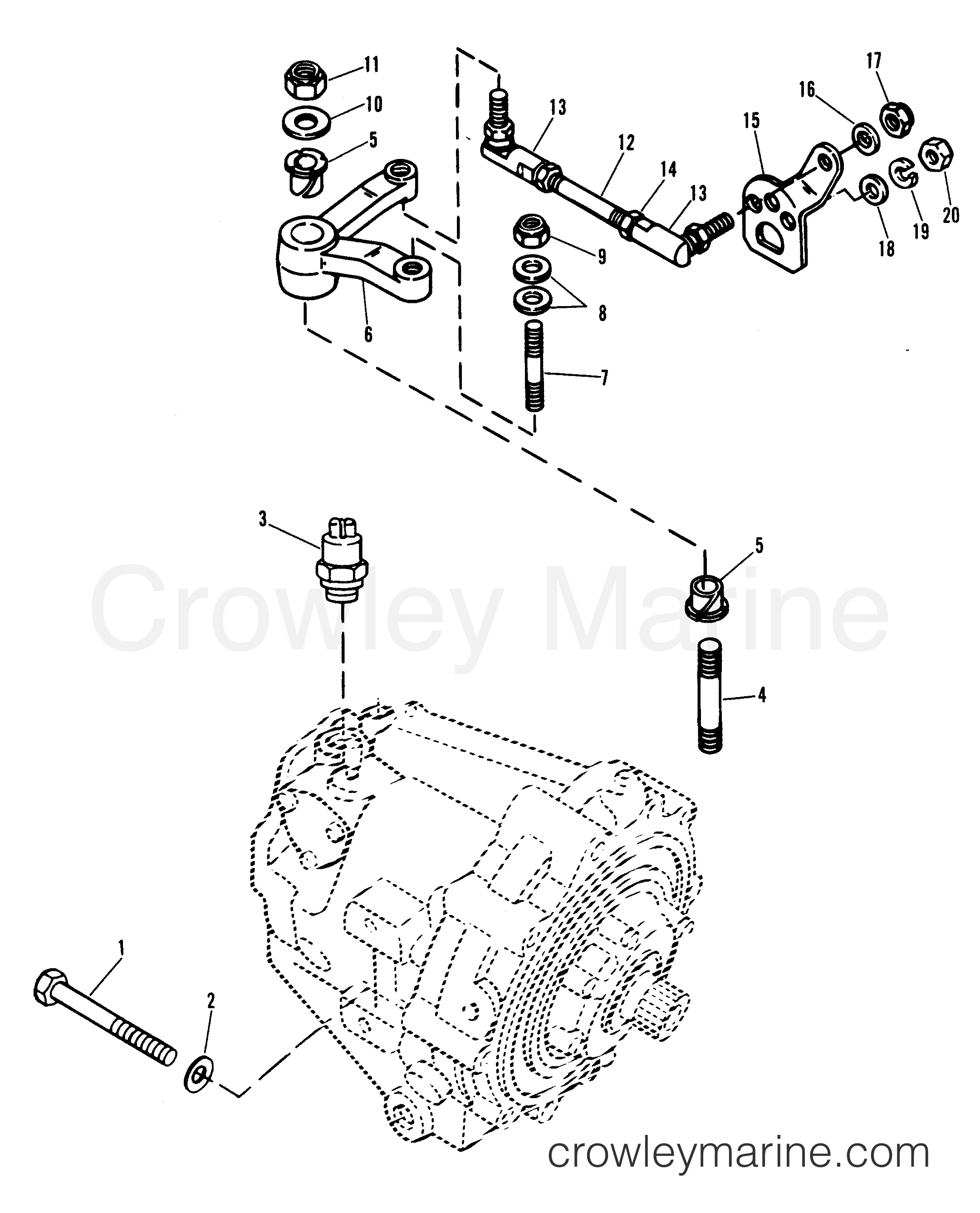 Transmission And Shift Linkage
