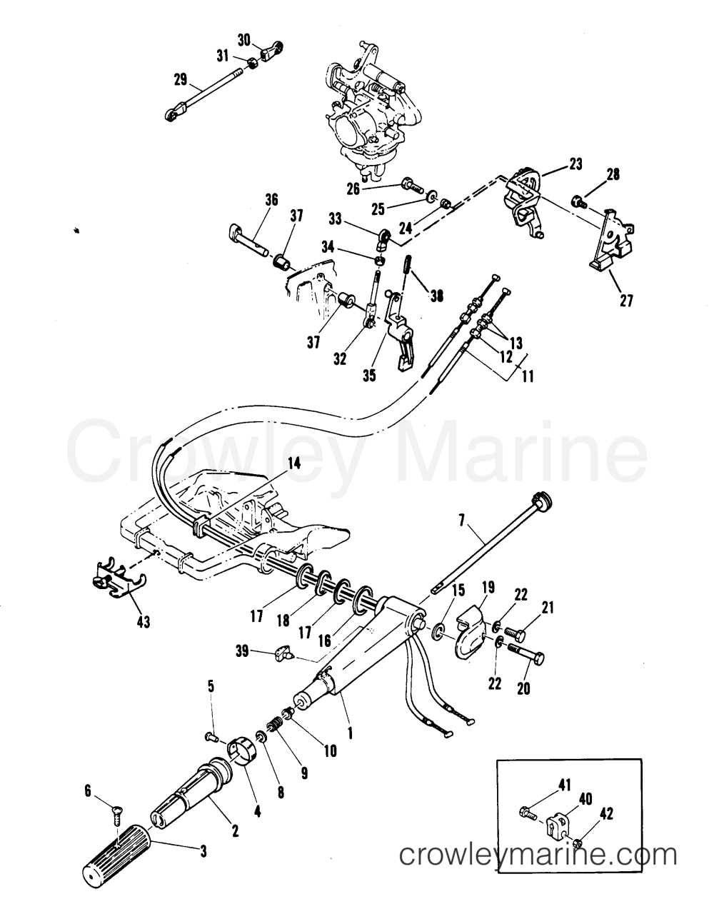 medium resolution of wrg 3813 mariner throttle control wiring diagram mariner throttle control wiring diagram source mercury control box