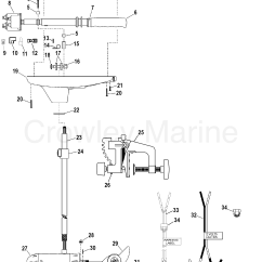 Motorguide Wiring Diagram Ford 8n 12 Volt Conversion Complete Trolling Motor Model T34 2004