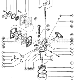 carburetor assembly complete 1975 mercury outboard 9 8 1110205 mercury 25hp 2 stroke carb diagram mercury carb diagram [ 1100 x 1405 Pixel ]