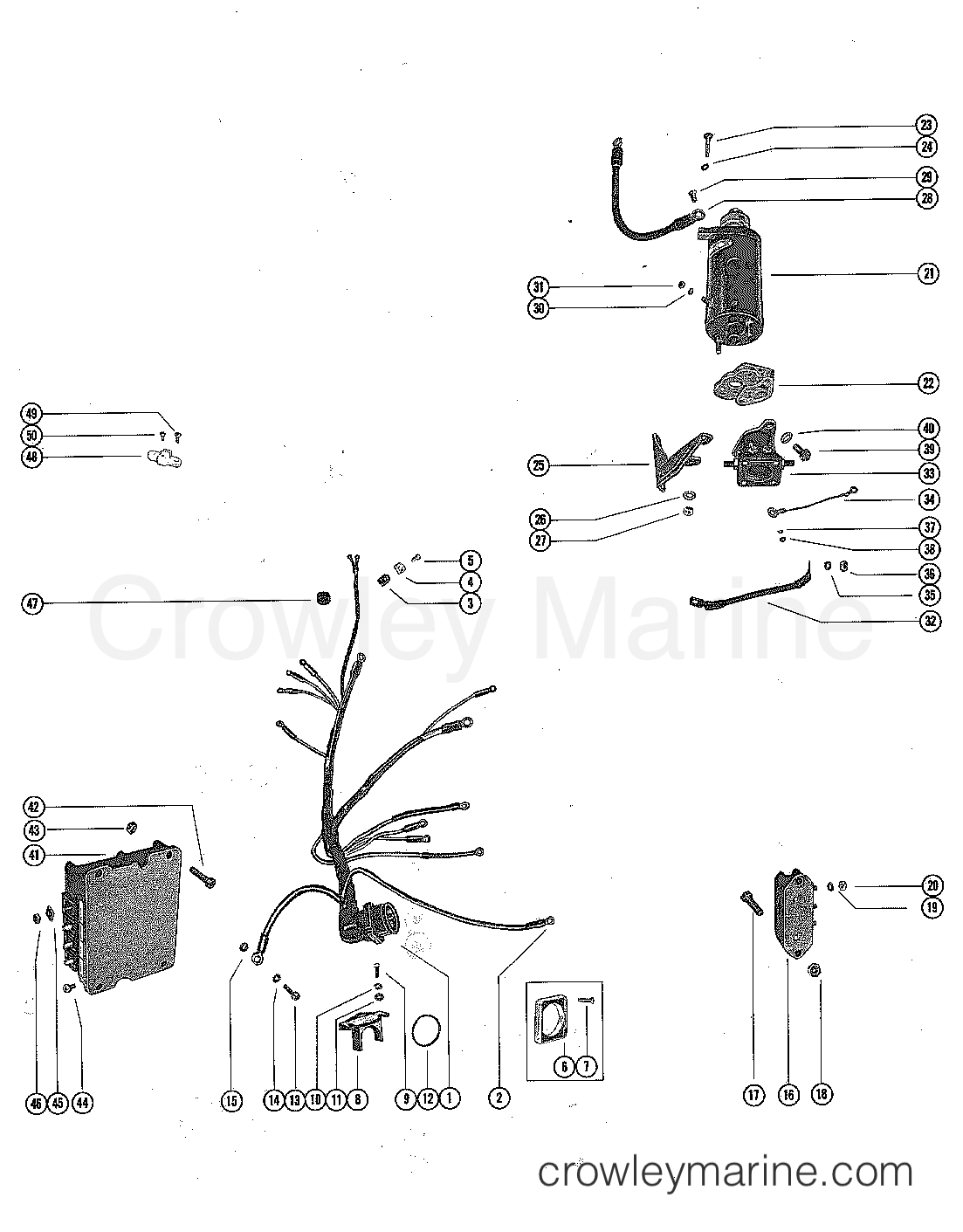 175 Mercury Ignition Switch Wiring Diagram. Mercury. Auto