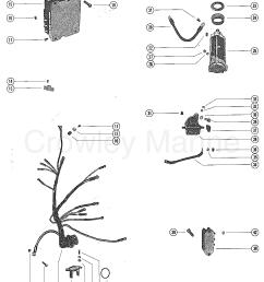 1978 mariner outboard 140 7140528 starter motor starter solenoid rectifier wiring [ 1095 x 1401 Pixel ]