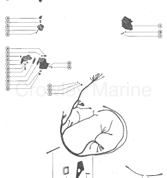 serial range mercruiser 160 gm 250 i l6 1967 1969 2048022 thru 2770031 [ 1096 x 1410 Pixel ]