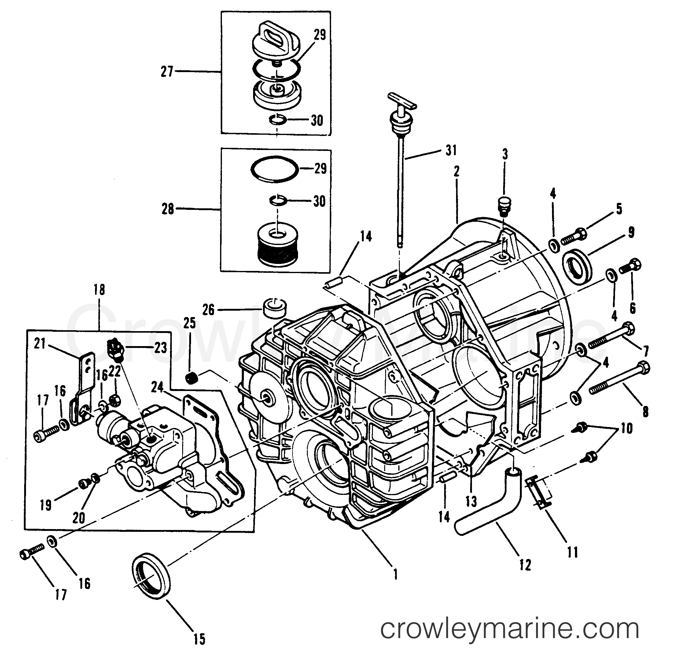 Transmission And Related Parts Transmission Assembly