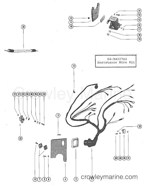 small resolution of serial range mercruiser 255 ford 351 v 8 1973 1974 3258728 thru 4175499