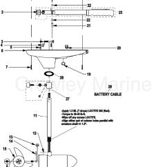 Motorguide Wiring Diagram Hair Skin Structure Complete Trolling Motor Model Gwb43 Gwt43 12 Volt