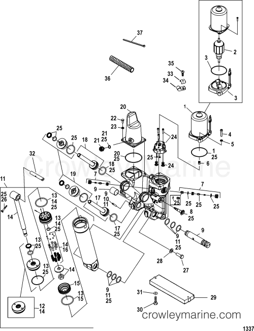 small resolution of 2002 mercury race outboard 300 x cl sm 1930342zh power trim components