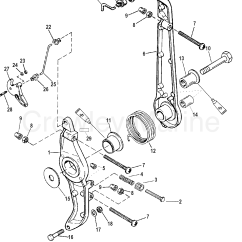 Mercury Outboard Parts Online Baldor 12 Lead Motor Wiring Diagram Throttle Lever And Linkage 2000 125