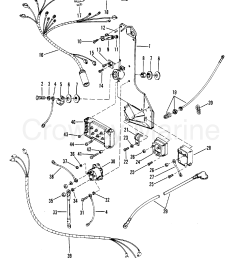 1983 mercury outboard 300 elpt 1300623 wiring harness starter solenoid and [ 1999 x 2541 Pixel ]