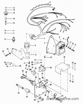 1988 Mercruiser Race Sterndrive 320EFI [BRAVO] [4320110AH