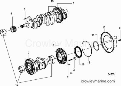 170 Hp Mercruiser Engine Diagram Mercruiser 898 Engine