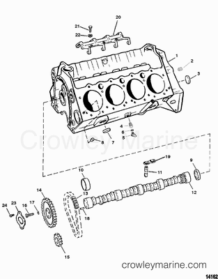Fuel Pump 350 Mercruiser Engine Diagram Chevrolet 350