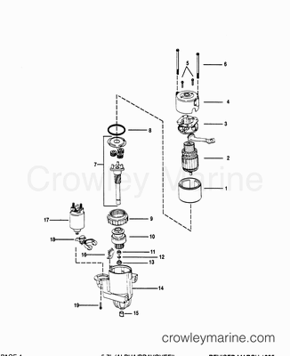 Mercruiser Electric Fuel Pump Wiring Diagram, Mercruiser