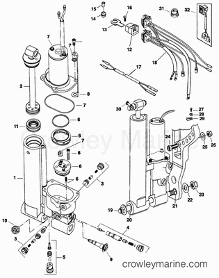 Mercury Outboard Charging Wiring Diagram