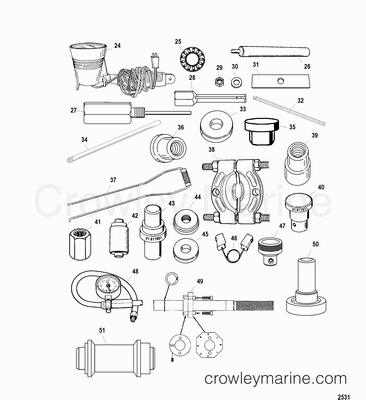 Mercury Outboard 4 Stroke Fuel System Diagram, Mercury