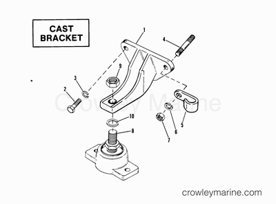 mando alternator wiring diagram sears lt1000 1987 mercruiser 350 [mci] [ 03501347] - parts lookup crowley marine