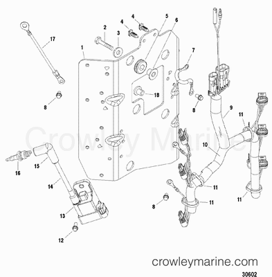 Mercury Outboard Shift Cable Diagram, Mercury, Free Engine