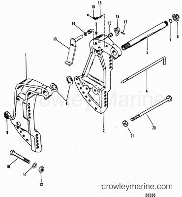 25 Hp Mercury Outboard Carburetor Kit 1987