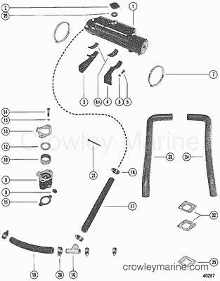 Mercruiser Exhaust Diagram Ranger Exhaust Diagram Wiring