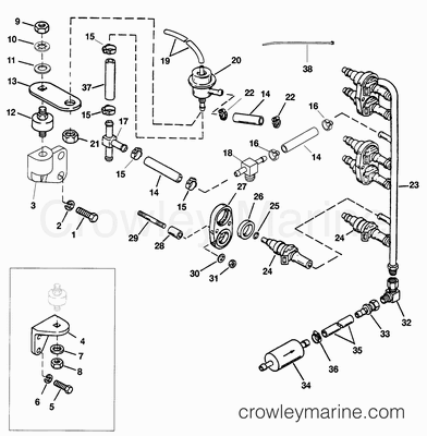 Outboard Motor Steering Accessories, Outboard, Free Engine