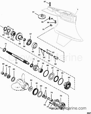 1998 Mercury Race Outboard 225 [MAGNUM] [7922300GH