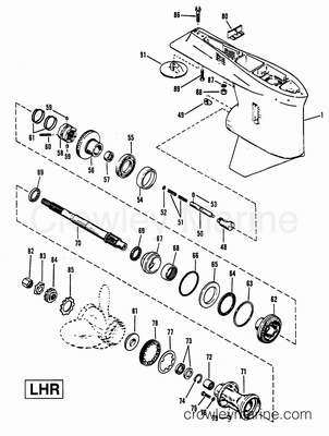 Inboard Hydraulic Steering Diagram, Inboard, Free Engine