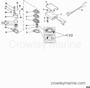 1999 Mercury Outboard 150 [XL] [1150462VD]  Parts Lookup  Crowley Marine