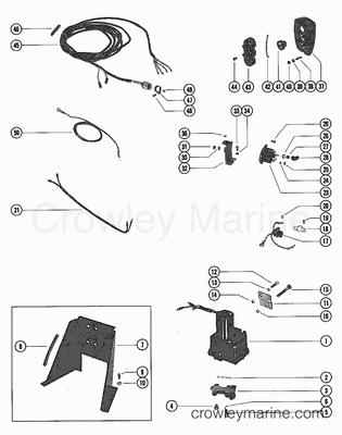 Wiring Diagram Mercruiser 525 Efi Mercury 525 EFI Wiring