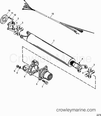 2003 Mercruiser Race Sterndrive 525 EFI [BRAVO] [4WA2025SH