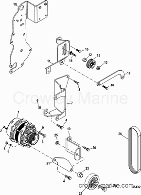 Serial Range Mercruiser 383 STROKER SCORPION BRAVO [All
