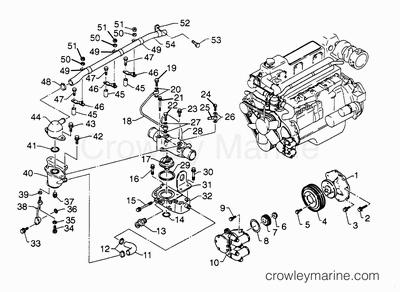 Hino Water Pump, Hino, Free Engine Image For User Manual