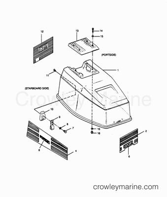 Chrysler Outboard Lower Unit Diagram, Chrysler, Free