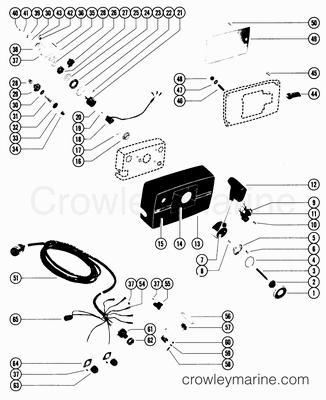 Mercury Remote Key Switch Harness, Mercury, Free Engine