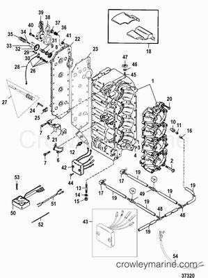 115 Mercury Outboard Fuel System Diagram Mercury 50 HP