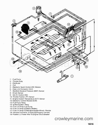 1998 Mercury Inboard Engine 350 MAG [MPI] [344579JLS