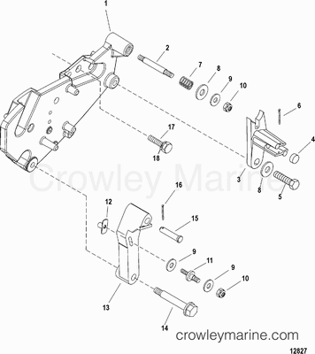 Air Actuator In Marine Engine Cooling System Turbocharger