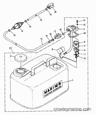 Serial Range Mariner Outboard W15 (M) [662-02241 THRU 662