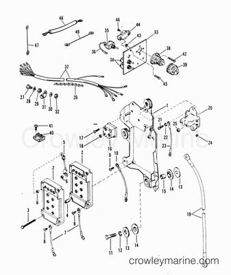 Starter Motor Solenoid Rectifier Wiring Harness Diagram