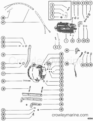 Outboard Motor Water Cooling System Diagram, Outboard