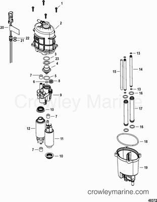Poppet Valve Mercury Outboard Parts Diagram. Mercury. Auto