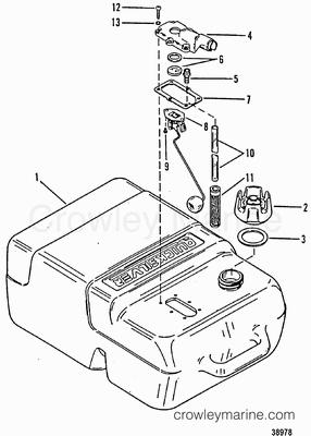 Mercury Quicksilver Throttle Control Motor Diagram