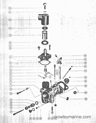 All Years Mark Outboard MARK 10, 10A, 15A, 28, 28A, 28AD