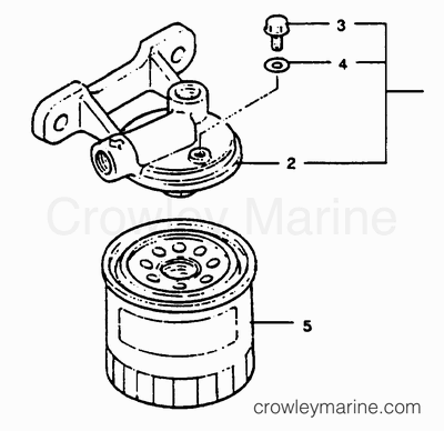 Marine Fuel Filter Water Separator, Marine, Free Engine
