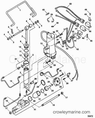 Serial Range Force Outboard TRIM & TILT [1984-1999] [ALL