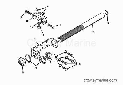 1995 Mercury Race Outboard 225 [PROMAX] [1925311RH