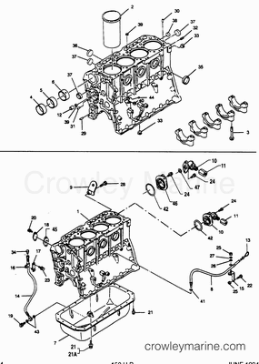 1990 Mercury Inboard Engine 3.9LD [PORT] [33912B9CS