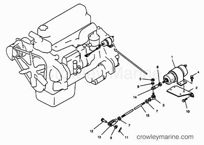 1994 Mercury Inboard Engine 4.0LD [STARBOARD] [34022K9GS