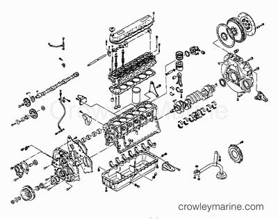 Serial Range Mercruiser W06DTA (310 HP) HINO 351 I/L6
