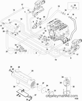 Serial Range Mercruiser 4.3L CARB ALPHA/BRAVO [1A063240